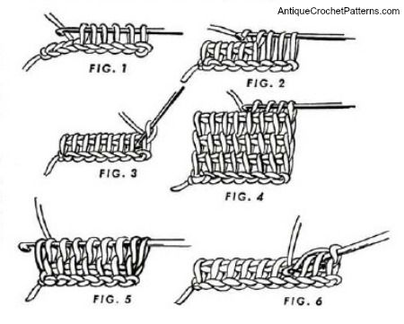 Crochet Afghan Stitch - Learn How to Crochet an Afghan Stitch
