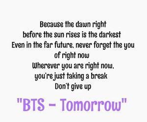 BTS - Tomorrow