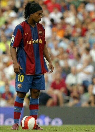 Ronaldinho of Barcelona in 2007.