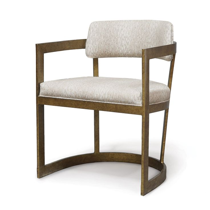 Superior CONRAD ARM CHAIR, GOLD