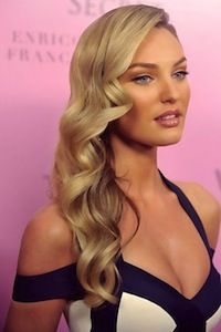 Hollywood Curls.jpg- blonde, long hair, old hollywood glamour, side part, hairstyle