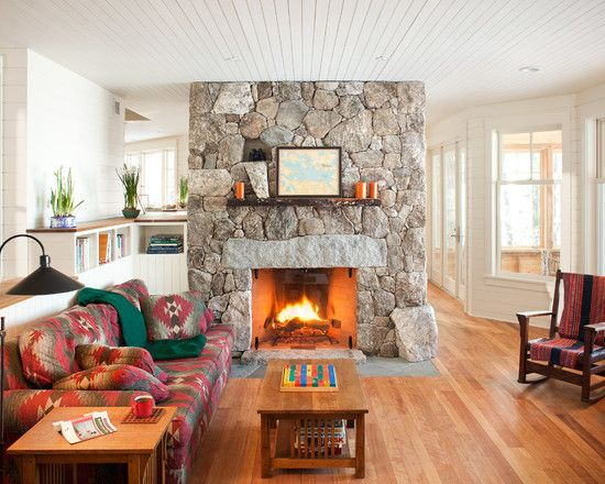 Living Room With Fireplace In Middle 17 best fireplaces in the middle of the room images on pinterest
