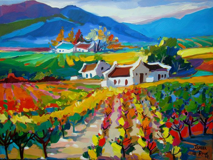 Isabel le Roux - South African Artist: Landscapes Gallery
