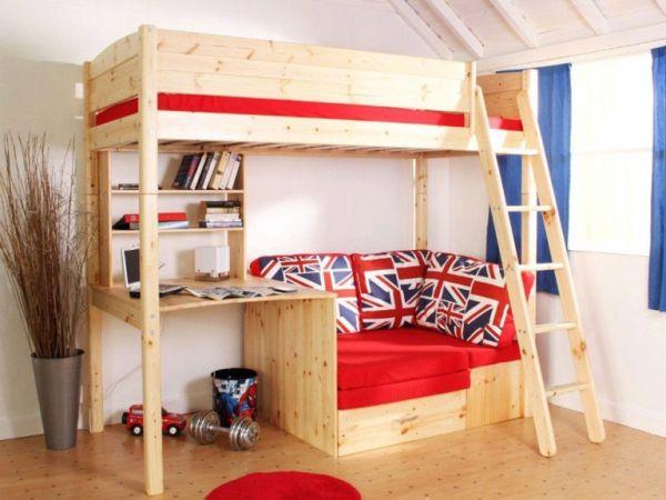 Children's high sleeper beds