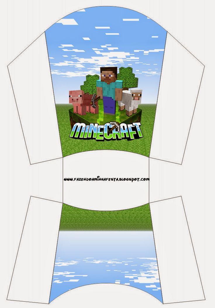 Minecraft Free Printable Boxes.