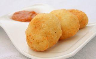 #Gastronomía Española - Ideas para #tapas: #Buñuelos de queso de cabra