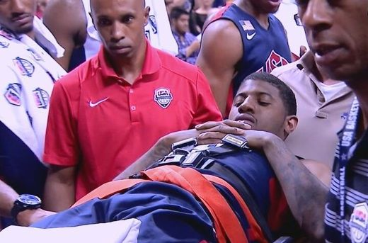 NBA stars could pull out of Olympic competition after Paul George's gruesome injury