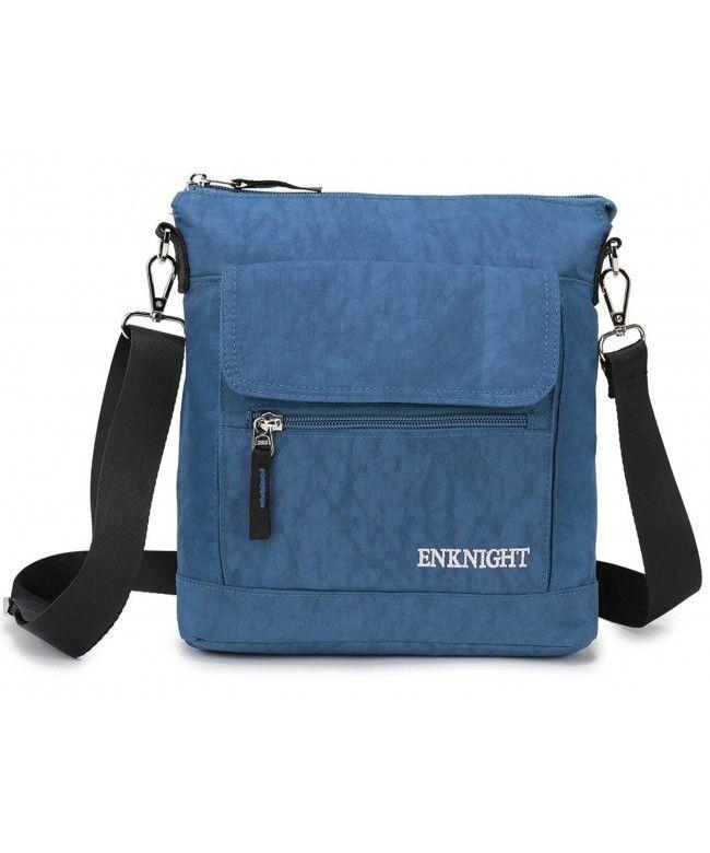 d74e2726e4e9 Nylon Crossbody Purse Bag for Women Travel Shoulder handbags - Blue -  CM12NA7NQ8Q  Bags