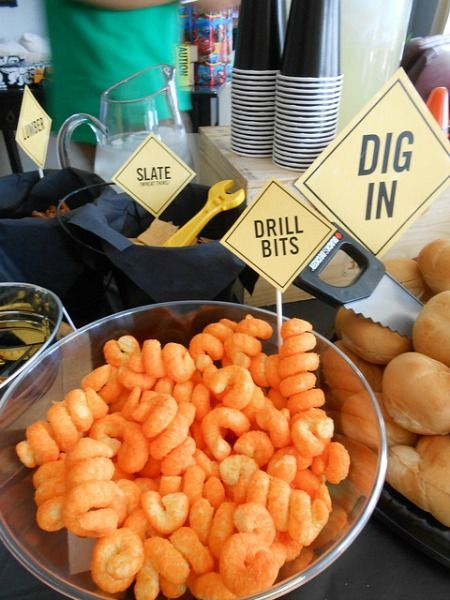 Best 25 construction party foods ideas on pinterest for Cuisine construction