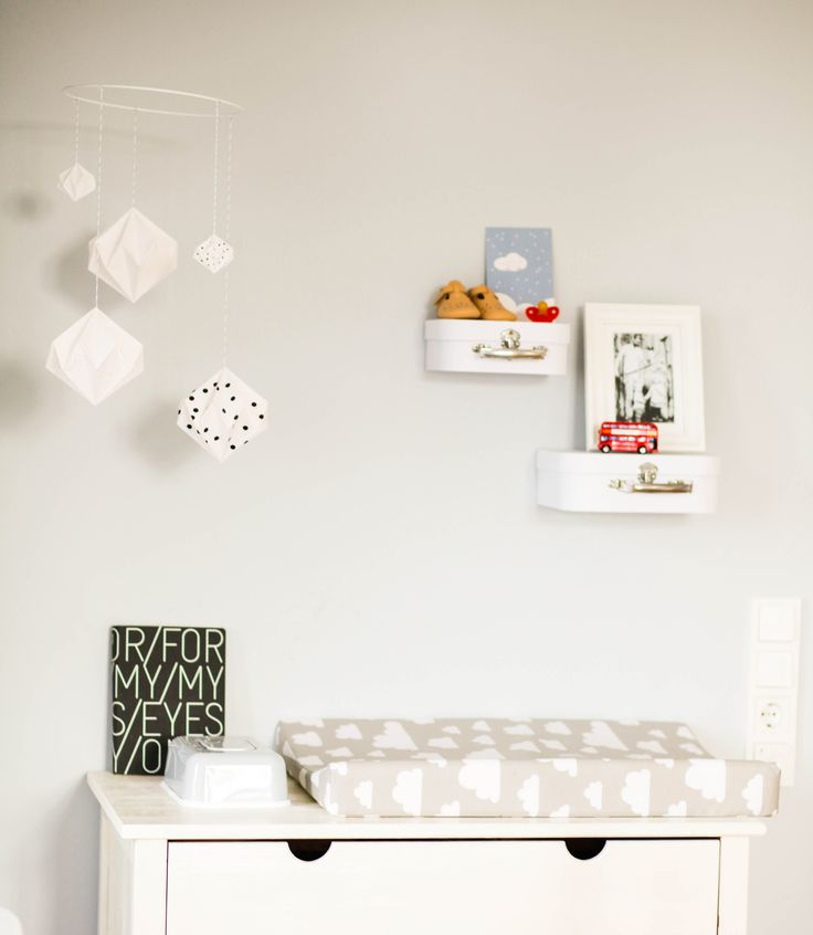 Babyzimmer, Wickeltisch, Mobile,
