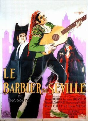 Old posters (OPERA), THE BARBER OF SEVILLE