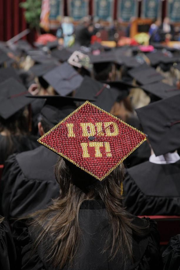 Commencement Caps : Commencement : Texas State University