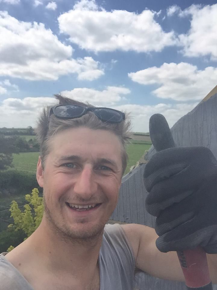 Beautiful day on site down at Burnham Market today.   'Suns out Guns out'   @joshmole