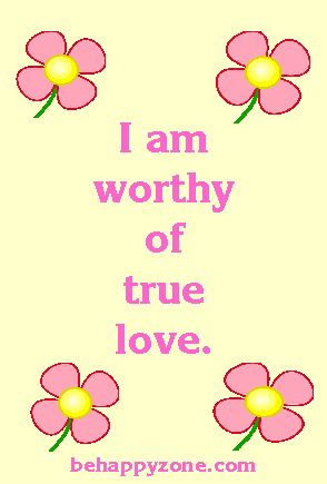 Self Esteem Affirmations - Positive Affirmations For Self-Esteem