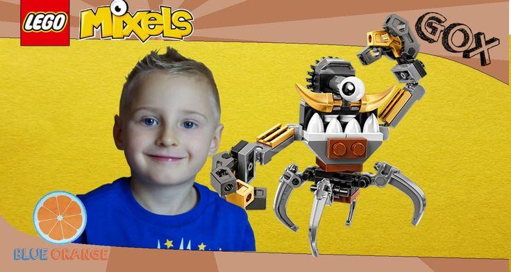 Lego Mixels series 5 Gox | Klinkers tribe Mixel | Blue Orange