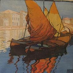 Helen Grupke GrandQueens Mary, Landscapes Art, Helen Grupk, Smile Queens, Grupk Grand, Art Marines, Adriatic Sea, Al Terzo, Modern Printmaking