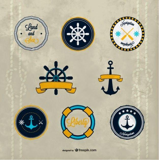 Nautical vector – Free vetores ~ De volta ao retrô