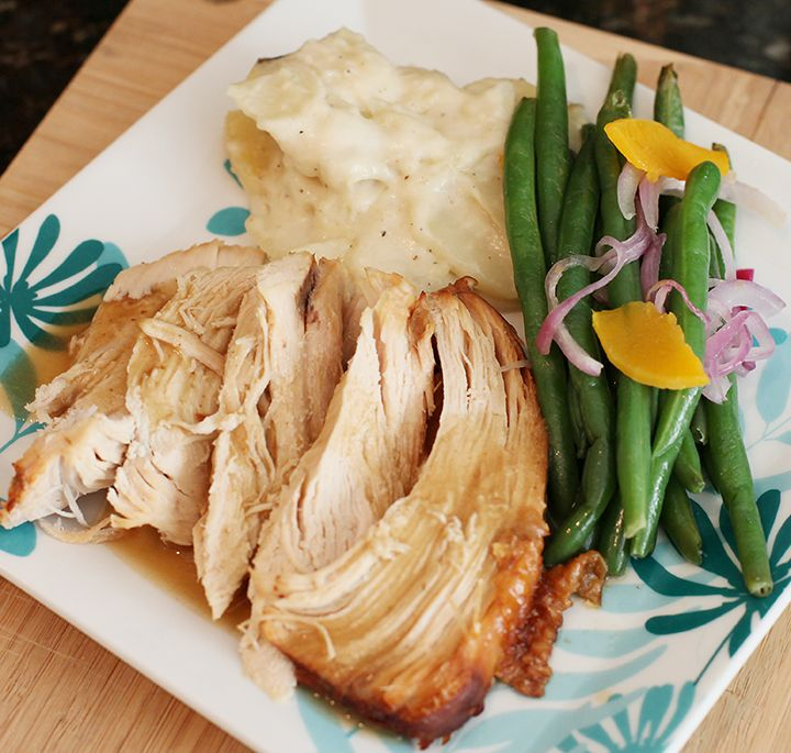 Turkey Breast {Electric Pressure Cooker Recipe} **New Recipe | Welcome to Peggy Under Pressure