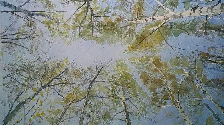 Himlen set fra birkelunden 2. Kåre Jansbøl, 2014