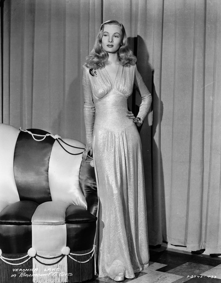 veronica_lake 1930s gowns cheapchicobsession.com
