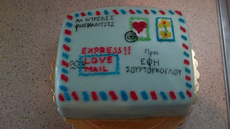mail cake