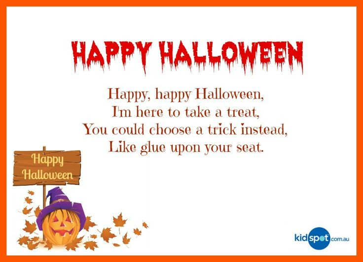 23 best Poetry images on Pinterest   Halloween rhymes, 4 kids and ...