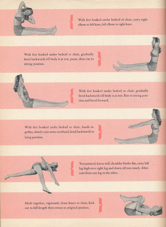 vintage workout tips