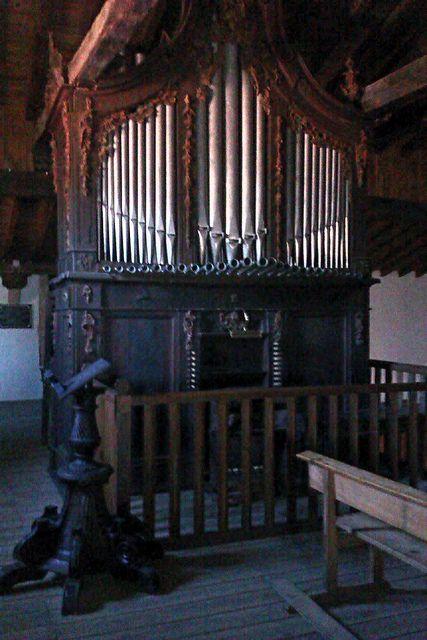 El Órgano de la Iglesia de San Lorenzo es un tesoro barroco. Fue restaurado en 1984