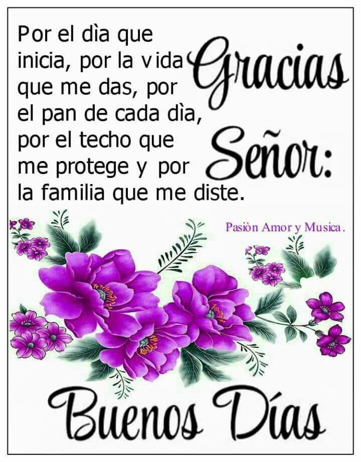 Y Gracias Por Mis Buenos Amigos Buenos Dias Bonita Frases De