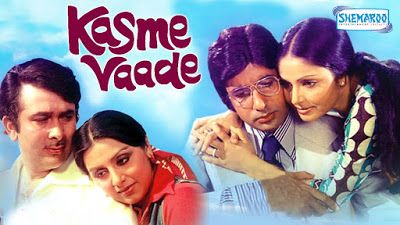 Kasme Vaade - Amitabh Bachchan - Rakhee - Randhir Kapoor - Neetu Singh - Hindi Full Movie Kasme Vaade - Amitabh Bachchan - Rakhee - Randhir Kapoor - Neetu Singh - Hindi Full Movie  Suman and Amit love each other and plan to marry soon. Amit lives with his younger brother, Raju. Amit is a professor by profession and belives in living a respectable life. On the other hand, Raju is unemployed and gets into bad company which later causes problems for himself and his family.
