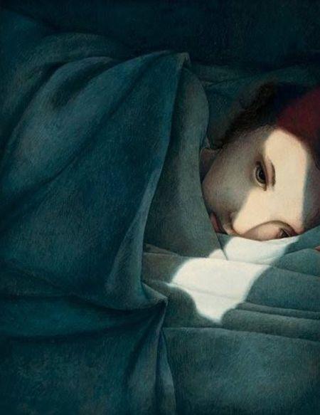 Rebecca Dautremer, Musetouch. Tras perder mil batallas ya sólo aspiraba a una tristeza suave, sin sobresaltos