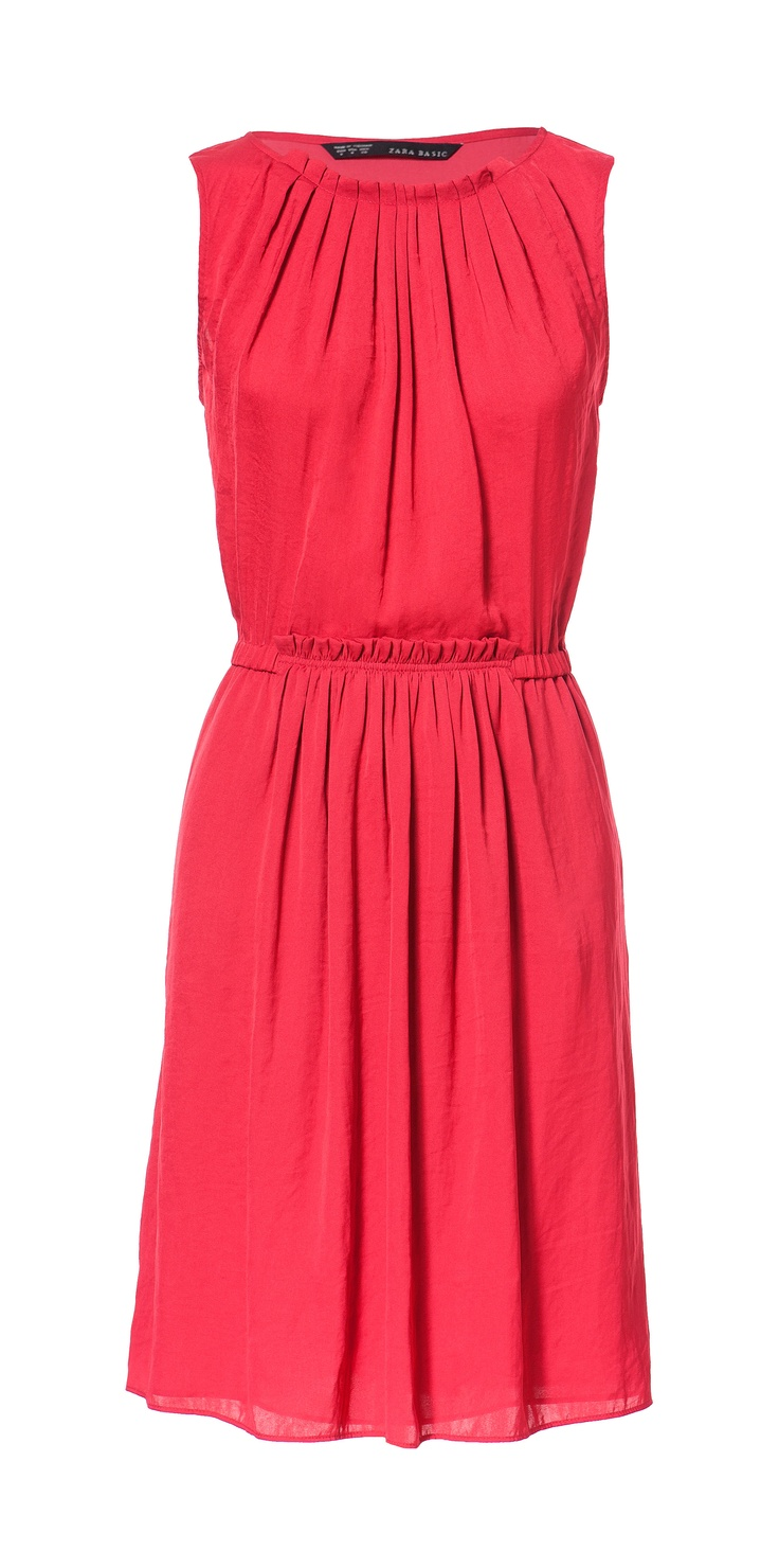 GATHERED DRESS - Dresses - Woman - ZARA United States