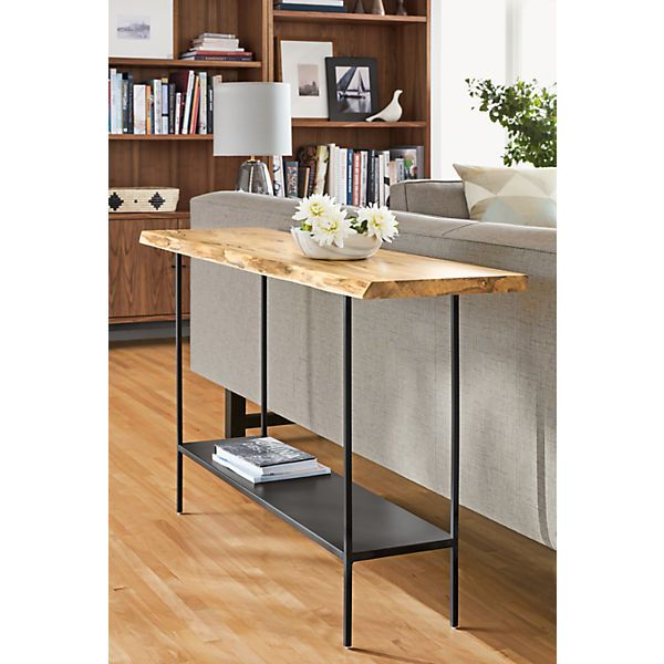 chilton console table in spalted sugarberry in 2019 living room rh pinterest com room and board slim console table room and board portica console table