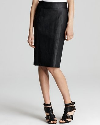 ShopStyle: Burberry London Textured Leather Pencil SkirtSkirts Online, Style, Leather Pencil Skirts, London Lending, Texture Leather, London Texture, Burberry London
