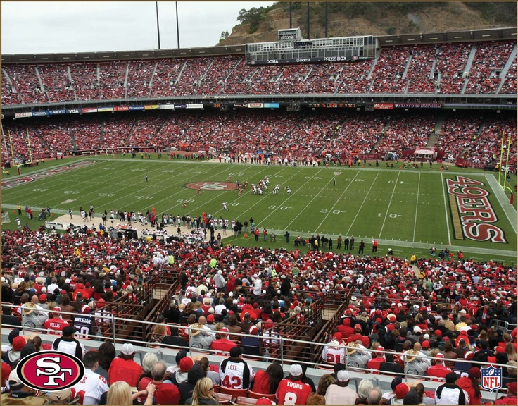 San Francisco 49ers. A huge experience going to an American Football game. Such a good time.