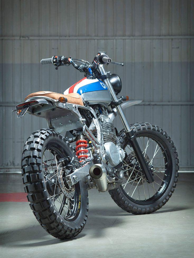 Kiddo Motors 1988 NX650 Dominator « Custom Bikes « DERESTRICTED