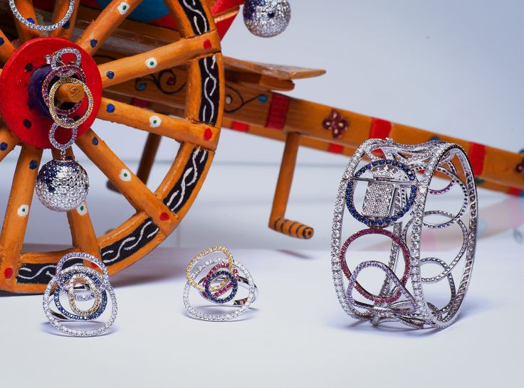 Taormina Collection - #digregorio_milano #digregoriogioielli_milano #whitediamonds #yellowdiamonds #rubies #sapphires #amethyst #colourfull #multicolor #whitegold #bracelet #earrings #rings #geometries #sicily #taormina #jewel #jewellery #finejewellery #luxury