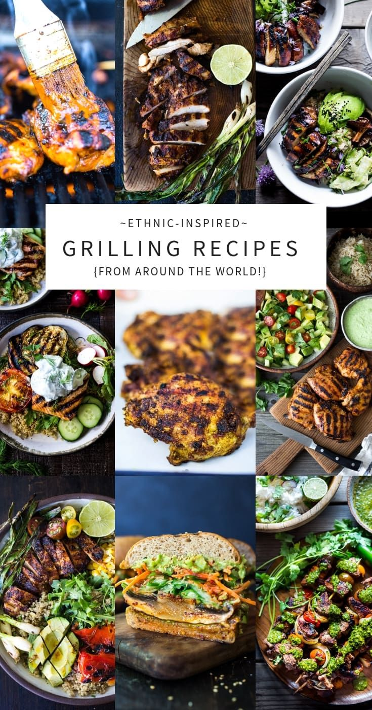 30 Grilling Recipes From Around The Globe