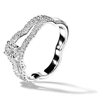 カメリア コレクション エンゲージメントリング - CHANEL(シャネル)の婚約指輪(エンゲージメントリング)