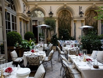 Ralph's. The new Ralph Lauren's restaurant in le Boulevard St. Germain in Paris.