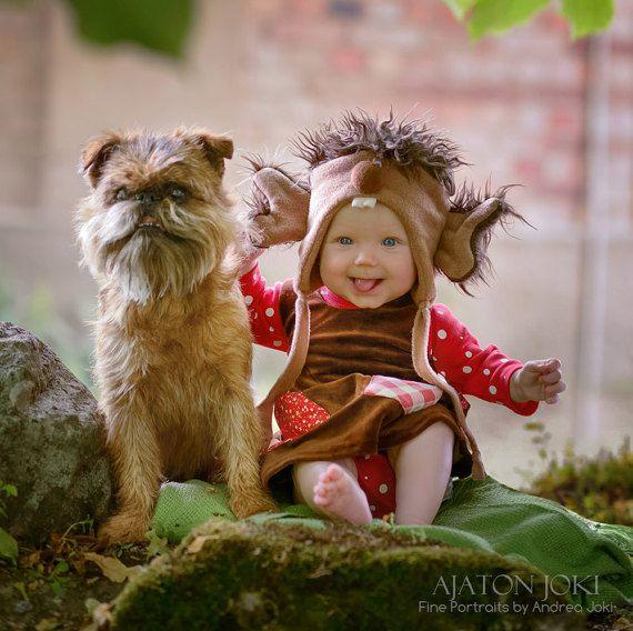 Newborn Troll Dress by FairytalePetronella on Etsy
