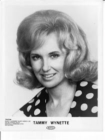 Country Singer Tammy Wynette's Flip Hairstyle