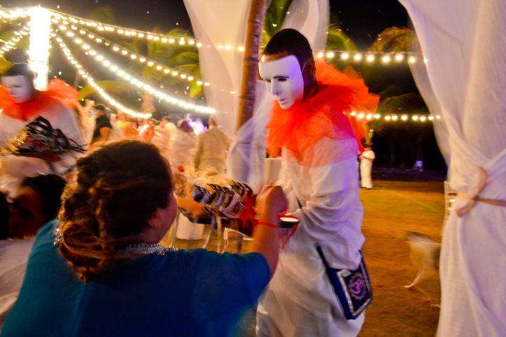 Harlequin - Venetian masks for guests - Arlequín - Antifaces venecianos para los invitados By MY Group Eventos