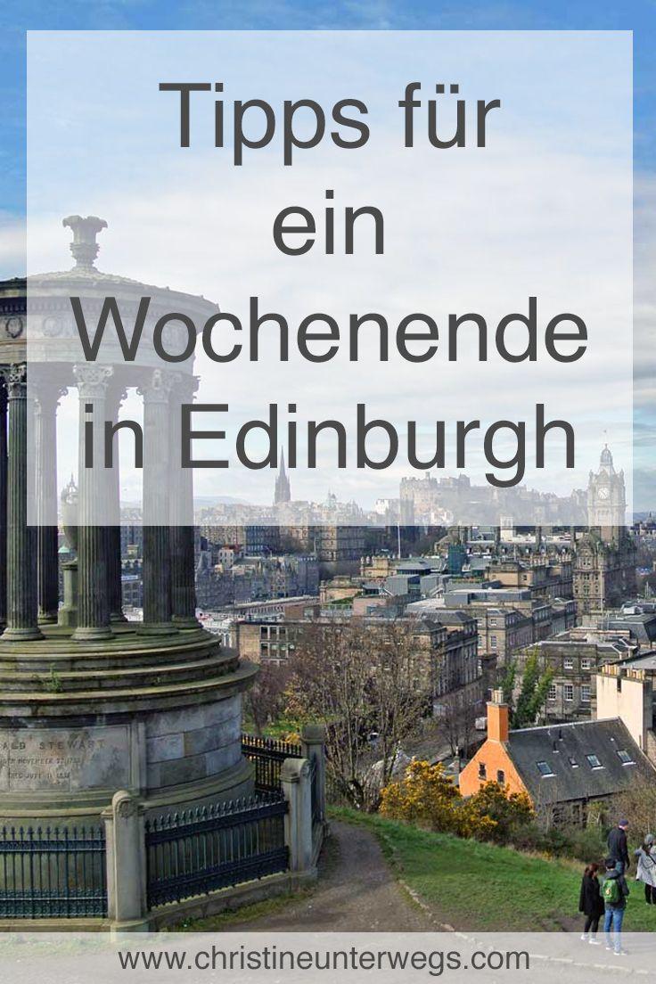 Reisebericht: Ein Wochenende in Edinburgh – Reisetipp von