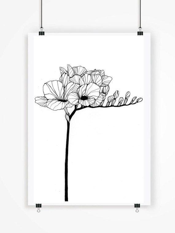 25+ beautiful Black flower tattoos ideas on Pinterest