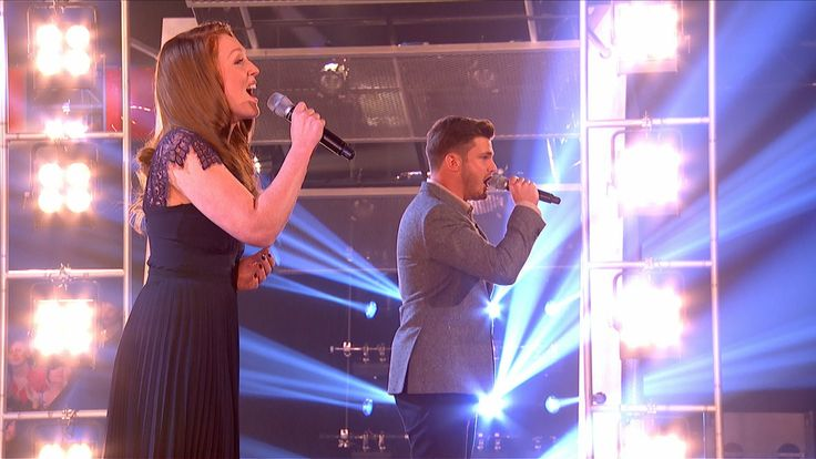 Lucy O'Byrne Vs Karl Loxley - Battle Performance: The Voice UK 2015 - BB...