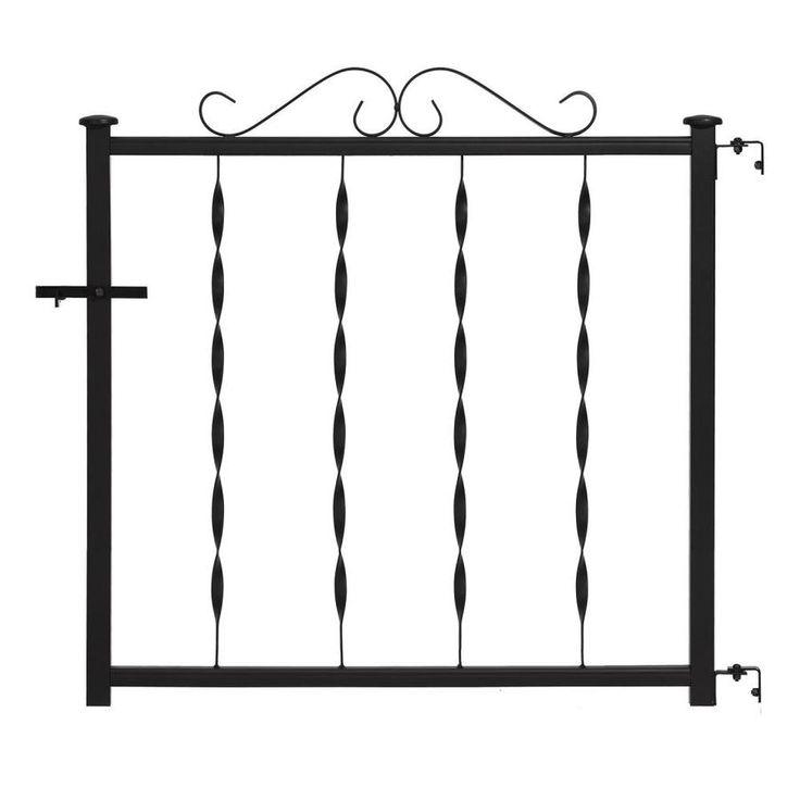 Best Gilpin Windsor Plus 32 25 In W X 28 In H Metal Deck Railing Gate 665 In 2020 Metal Deck 400 x 300