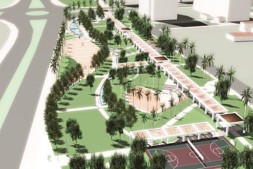 Kumluk Kent Parkı Kentsel Tasarım Projesi | Park ve Rekreasyon | Projeler  | Promim Çevre Düzenleme Kentsel Tasarım