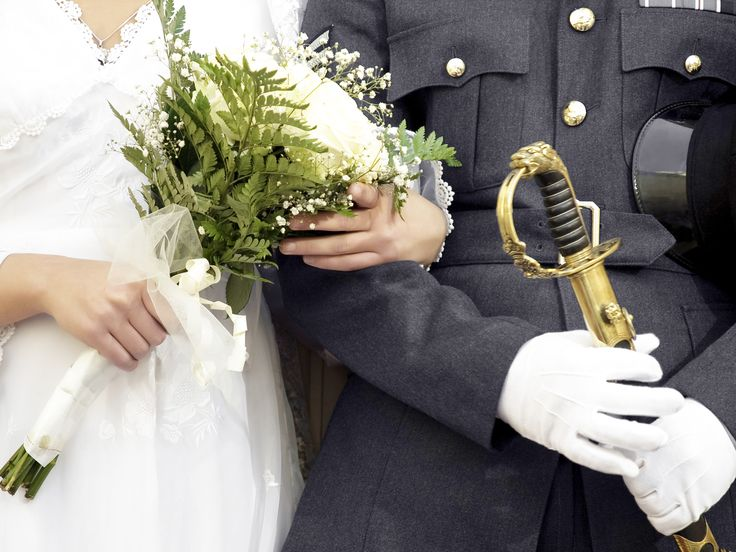 Brides Across America Is Donating Wedding Dresses to Military Brides on Veterans Day! | Photo by: Shutterstock Images | TheKnot.com