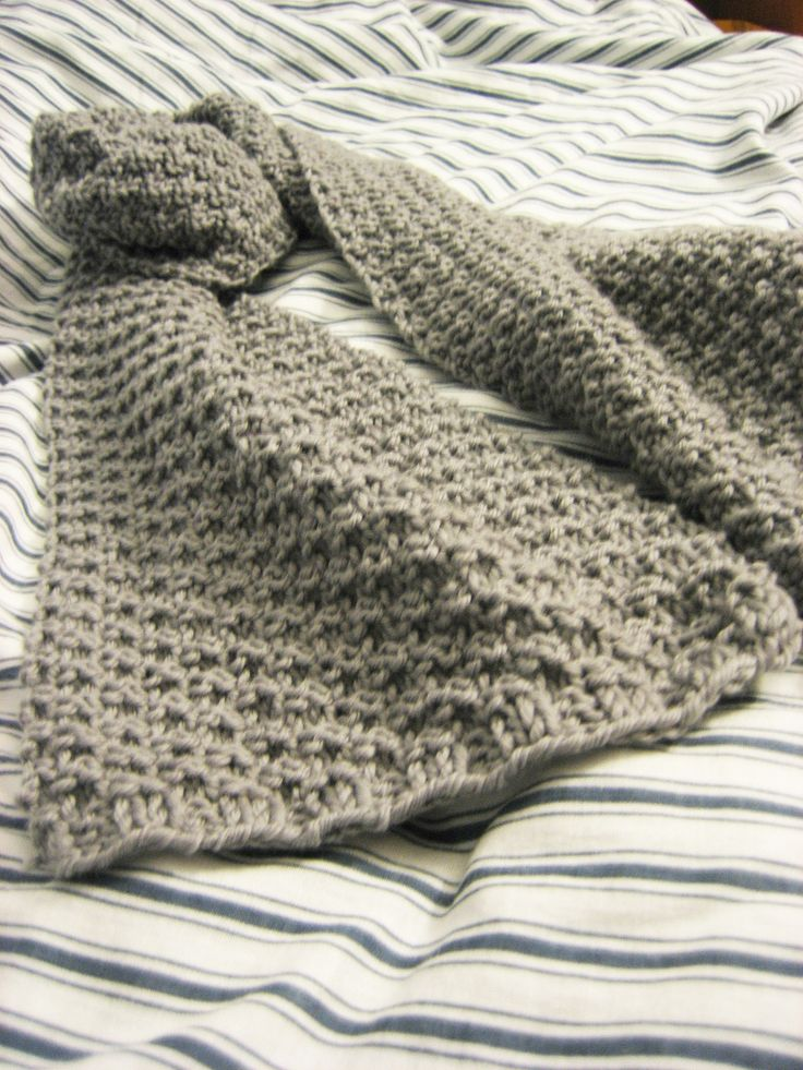 Eton's Scarf knitting pattern..simple pattern even for a small throw, or baby blanket